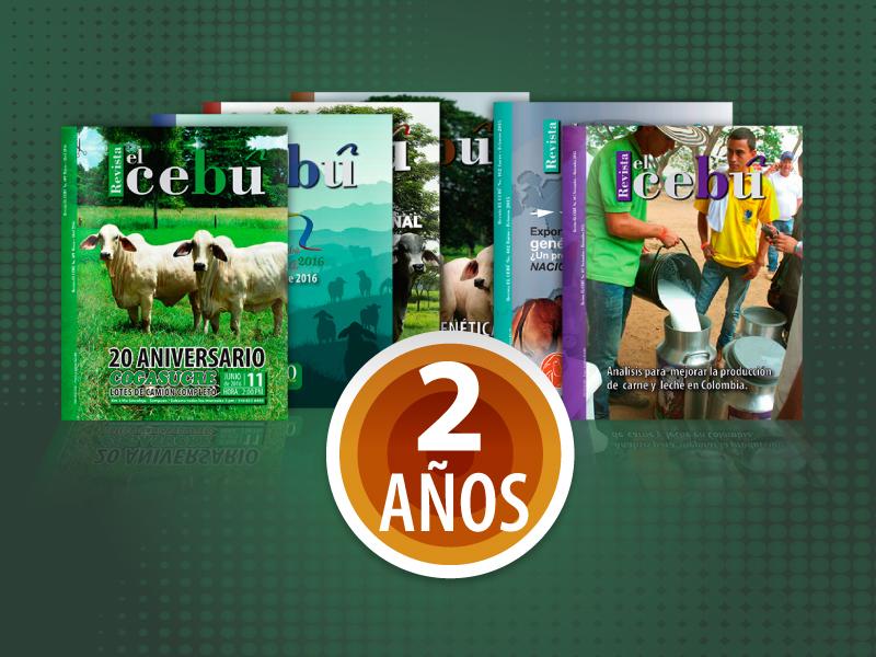 Revista el Cebú X 2 años