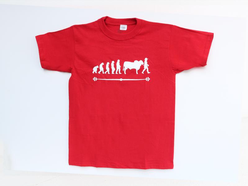 Camiseta evolución Roja $25.000