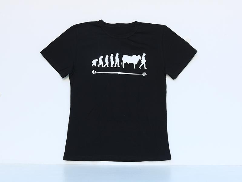 Camiseta evolución Negra 25.000
